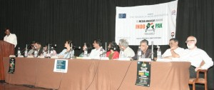 The FMP panel in Delhi, April 15, 2009
