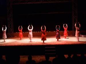 Choreographed by Nahid Siddiqui, a delight to watch. (Photo: Beena Sarwar)