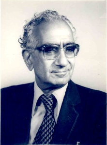 Prof. Jagan Nath Azad. Photo courtesy: Chander K. Azad, Jammu