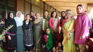A collective aspiration for peace brings together women from India, Pakistan and Afghanistan. Photo:Roshan Sirran