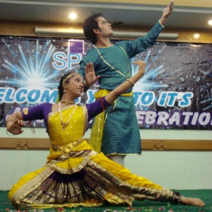 Suhaee and Babar perform at Spelt's 25th birthday celebrations. Photo: K.B. Abro