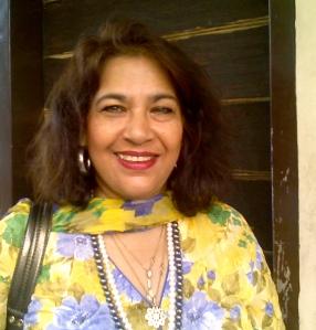 Veena Masud: a voice of courage. Photo: beena sarwar