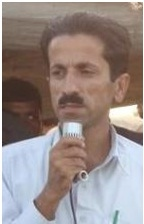 Human rights activist Naeem Sabir