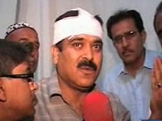 baqir shah attacked-2011-06-14