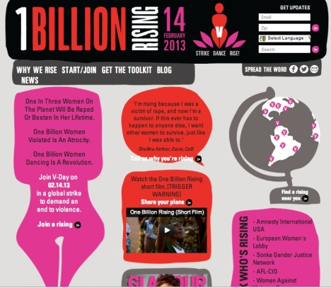 Screenshot of OBR website, Dec 29, 2012