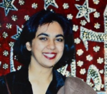 Ayesha Haroon at a friend's wedding some 20 years ago in Lahore