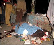 Remember Shabana, a dancer in Swat, killed by the Taliban in 2009. Photo: Rashid Iqbal/European Pressphoto Agency