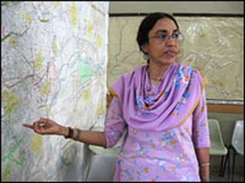 Parveen Rehman, photo by Steve Inskeep, NPR
