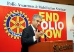 Aziz Memon RotaryPolio