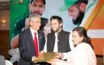 Shahid Afridi – Aziz Memon –Polio
