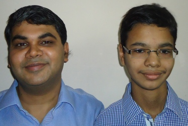 Like father like son: Samir and Kshitij Gupta