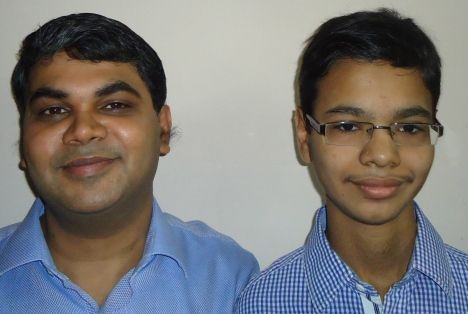 Like father like son: Samir and Kshitij Gupta