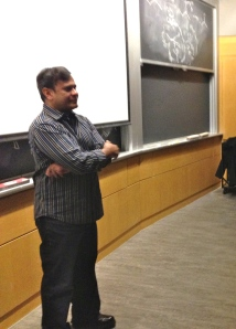 Dr Bedabrata Pain at MIT, Nov 9, 2013: Scientist turned filmmaker