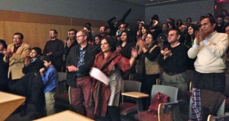 At the MIT screening: A prolonged and well-deserved standing ovation