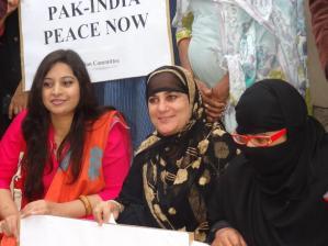 India Pakistan Global Peace Vigil, Karachi. Photo: ShujaQureshi