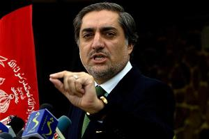 Fight 'Talibanism': Abdullah Abdullah. File photo/ Farzana Wahidy:AP
