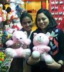 Kiran and Sadiqa
