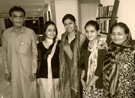 Tea with the lovely Nandita Das in Mumbai
