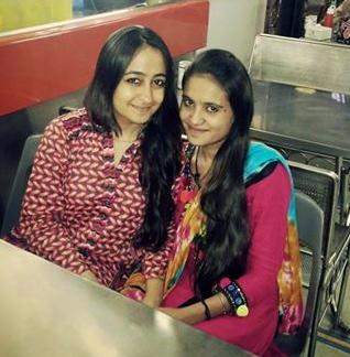 Nitu and Kiran: In Mumbai on Kiran's return to Karachi - this is Aman ki Asha.