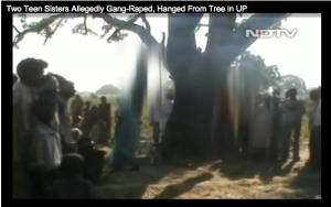 Dalit girls gangraped murdered hanging