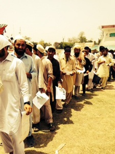 IDPs Bannu. Courtesy: Dawn