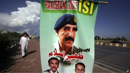 ISI banner Islamabad-AP photo