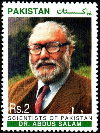 The only two state institutions that have acknowledged Dr Salam are his alma mater Government College, Lahore (named its mathematics and physics departments after Dr Salam), and Pakistan Post.