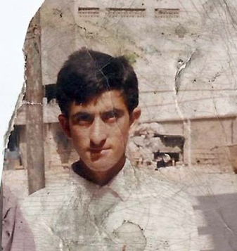 Shafqat Hussain, photo taken before he left Muzaffarabad more than 10 years ago.
