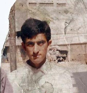Shafqat Hussain, photo taken before he left Muzaffarabad more than 10 years ago.