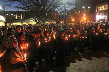 NC vigil- Chapel Hill shooting