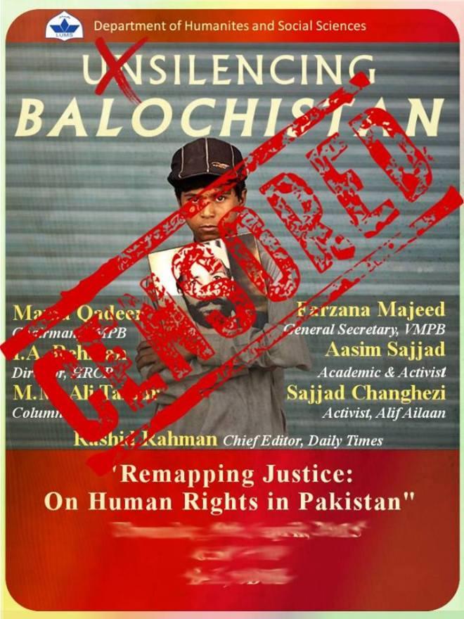 Censored- unsilencing balochistan
