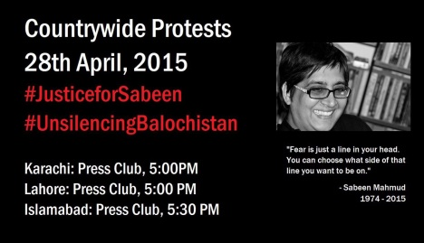 Protest4Sabeen-28April2015
