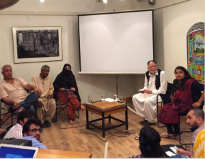 Unsilencing Balochistan-  Take 2, at T2F. Photo: Sabeen Mahmud