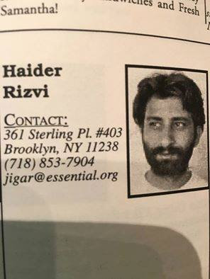 Haider-contact