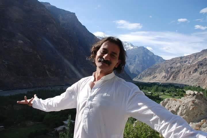 Haider in Gilgit-fb page