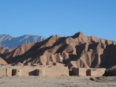 Landscape near Pishin, hometown of Faraz and Hamza, 45 km north of Quetta. Photo: Faraz Jamil Kakar