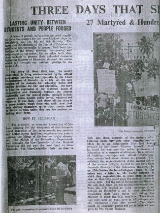 Students' Herald Martyrs' Number, January 19, 1953