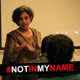 Not in my Name-Saba Dewan