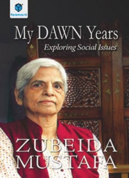 Zubeida Mustafa book cover
