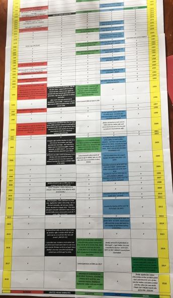 Viqar-timeline printouts