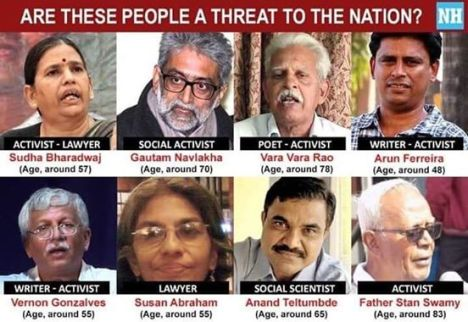 India arrests-threat